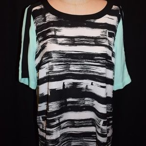 Attention brand women's Blouse shirt NWT